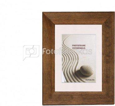 Frame 15x21 wooden 402-018 dark brown [E] | 40mm