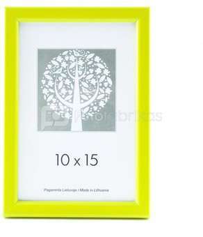 Rėmelis 21x30 plast 1303038 Aura geltonas | 14mm