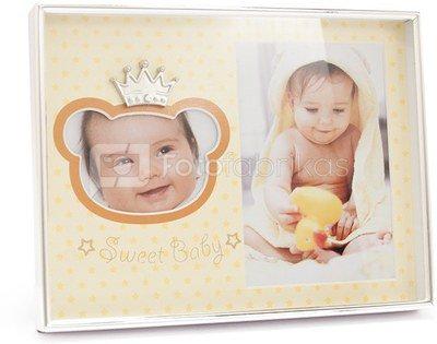 Rėmelis metalinis vaikiškas 2 nuotraukoms SAVEX