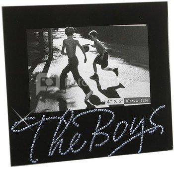 """Rėmelis stiklinis juodas """"The boys"""" (berniukai) FG369by H:17 W:19 D:1 cm"""