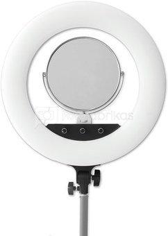 Caruba RGB Round Vlogger 18 inch LED set met tas   Black