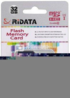 Ridata micro SDXC 32GB class10 U1