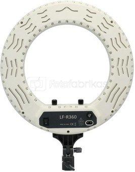 Caruba Round Vlogger 12 inch LED set met tas   White