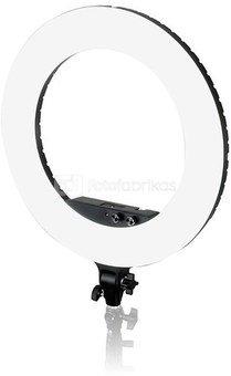 Caruba Round Vlogger 18 inch LED set PRO met tas   Black