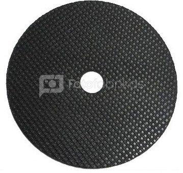 """Caruba rubber dekplaat (45 mm)   met 3/8"""" uitsparing"""