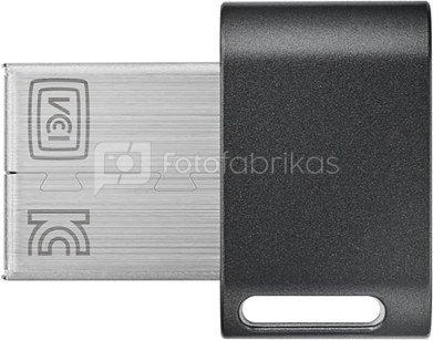 Samsung FIT Plus MUF-128AB/APC 128 GB, USB 3.1, Black/Silver