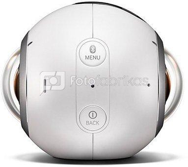 Samsung Gear 360 Kamera (Baltas)