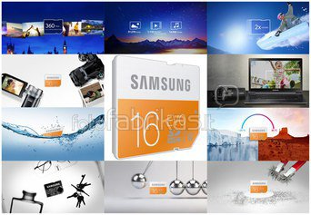 Samsung SDHC Class 10 16GB EVO