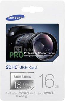 Samsung SDHC Class 10 16GB PRO / MB-SG16D/EU