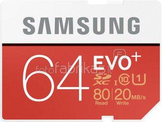 Samsung SDXC Class 10 64GB Evo+