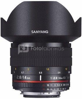 SAMYANG 14mm f/2.8 ED AS IF UMC (Nikon F (AE))