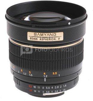Samyang 85 mm f/1.4 Aspherical IF