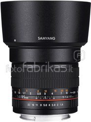 Samyang 85mm F1.4 AS IF UMC, Canon
