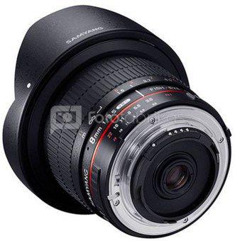 Samyang 8mm f/3.5 UMC Fisheye CSII, Sony E