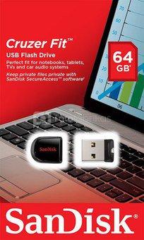 SanDisk Cruzer Fit 64GB SDCZ33-064G-B35
