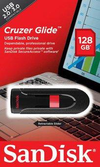 SanDisk Cruzer Glide 128GB USB raktas
