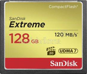 SanDisk Extreme CF 128GB 120MB/s SDCFXS-128G-X46