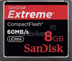 SanDisk Extreme CF 2-Pack 8GB 60MB/s SDCFX2-008G-X46