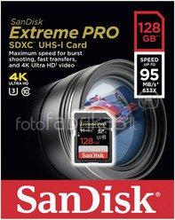 SanDisk Extreme Pro SDXC 128GB 95MB/s SDSDXPA-128G-G46