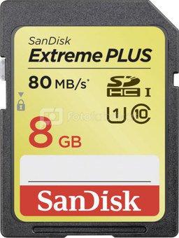 SanDisk Extreme SDHC 8GB 80MB/s. UHS 1 SDSDXS-008G-X46