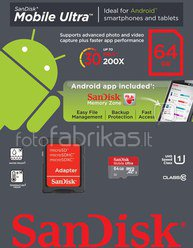 SanDisk Ultra microSDXC 64GB Android