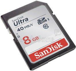 SanDisk Ultra SDHC 8GB 40MB/s Class 10 SDSDUN-008G-G46