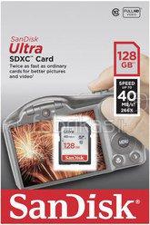 SanDisk Ultra SDXC 128GB 40MB/s Class 10 SDSDUN-128G-G46