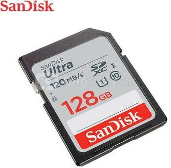 SanDisk Ultra SDXC UHS-I 128GB 120MB/s SDSDUN4-128G-GN6IN