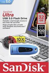 SanDisk Ultra USB 3.0 BLUE 32GB SDCZ48-032G-U46B