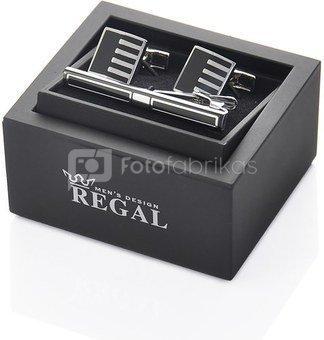 Sąsagos+segtukas kaklaraiščiui dėžutėje SPK52