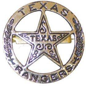 Šerifo ženkliukas 102 TEXAS RANGERS
