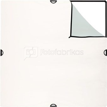 Westcott Scrim Jim Large Silver/White Bounce Fabric (1.8 x 1.8m)