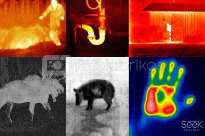 Seek Thermal Reveal XR black thermal imaging camera
