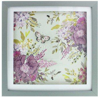 Sienos dekoracija paveikslas gėlių motyvais 30x30 cm 60177