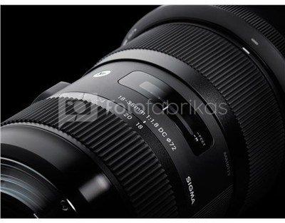 Sigma 18-35mm F1.8 DC HSM, Canon [Art]