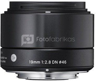 Sigma 19mm f/2.8 DN black Sony E-Mount
