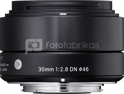 Sigma 30mm F2.8 DN black Sony E-Mount