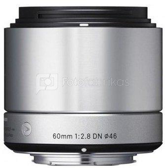 Sigma 2,8/60 DN silver Sony E-Mount