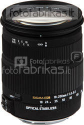 Sigma AF 18-200mm F3.5-6.3 DC OS HSM