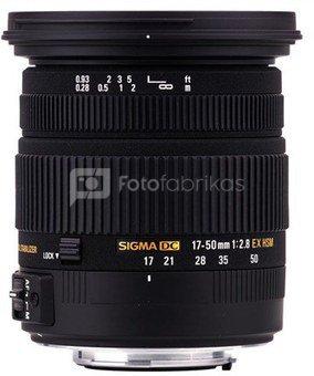 Sigma EX 2,8/17-50 DC OS AF HSM, Canon