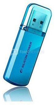 SILICON POWER 16GB, USB 2.0 FLASH DRIVE HELIOS 101, BLUE