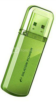 SILICON POWER 16GB, USB 2.0 FLASH DRIVE HELIOS 101, GREEN