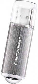 SILICON POWER 16GB, USB 2.0 FLASH DRIVE ULTIMA II I-SERIES, SILVER