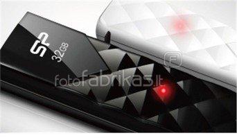 SILICON POWER 16GB, USB 2.0 FLASH DRIVE ULTIMA U03, BLACK