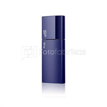 SILICON POWER 16GB, USB 2.0 FLASH DRIVE ULTIMA U05, DEEP BLUE