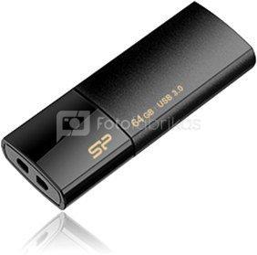 SILICON POWER 16GB, USB 3.0 FlASH DRIVE, BLAZE SERIES B05, BLACK