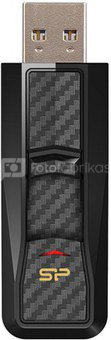 SILICON POWER 16GB, USB 3.0 FLASH DRIVE, BLAZE SERIES B50, BLACK