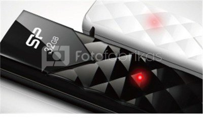 SILICON POWER 32GB, USB 2.0 FLASH DRIVE ULTIMA U03, BLACK