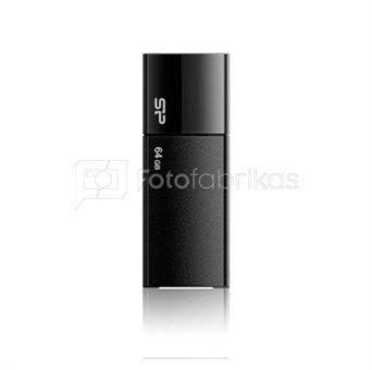 SILICON POWER 32GB, USB 2.0 FLASH DRIVE ULTIMA U05, BLACK