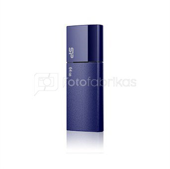 SILICON POWER 32GB, USB 2.0 FLASH DRIVE ULTIMA U05, DEEP BLUE